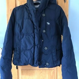 Abercrombie & Fitch bomber jacket.
